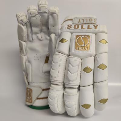 Solly Batting Gloves-Golden