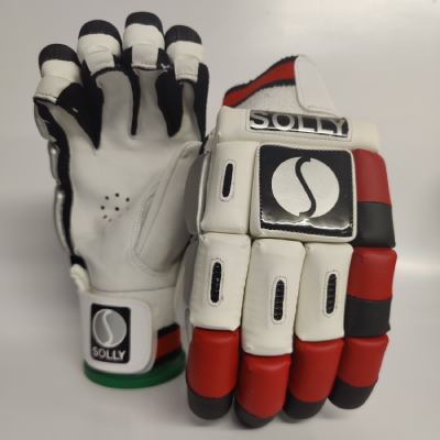 Solly Batting Gloves-Red
