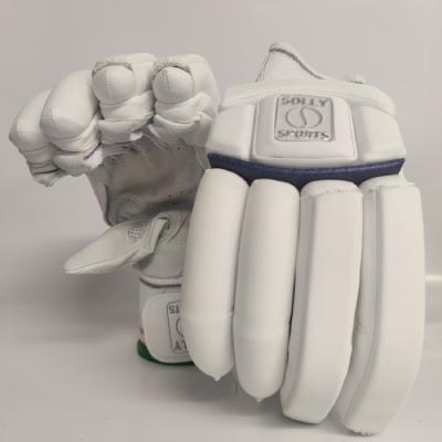 Solly Batting Gloves-Silver